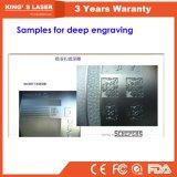 Etiqueta de plástico profunda del laser de la máquina de la marca del grabado de la placa de identificación de Alemania