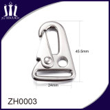 High Polish Zinc Alloy Custom Handbag Snap Hook