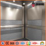 장식적인 벽면 높은 광택 내화성이 있는 알루미늄 합성 위원회
