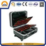 Cassa di strumento di alluminio del carrello dell'ABS di alta qualità (HT-5101)