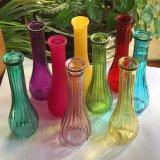 Bunter Glaskunst-Qualitäts-Glasflaschen-Vase für Dekoration