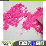 Pigmento rosa em pó utilizado em pantufas