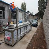 Maquinaria auto de la sartén que fríe la máquina