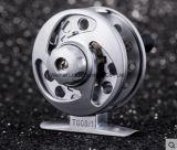 Maschinen-Schnitt-Griff-Aluminiumfliegen-Fischen-Bandspule-Fliegen-Bandspule