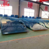 10ton 고품질 조정가능한 고도 중국 공장 가격을%s 가진 베스트셀러 유압 선착장 이동할 수 있는 경사로