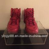 Rectángulo de zapato transparente claro de acrílico del más nuevo diseño
