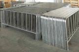 1090mm x 2500mm 유럽 기준 17 PCS 수직 상태 최신 담궈진 직류 전기를 통한 군중 통제 방벽