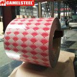 La belle couleur enduite décorent des bobines de PPGI de matériau de toiture