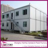 Slaapzaal van de Container van de Huizen van de Container van het Bureau van het geprefabriceerd huis de Prefab