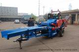 Móvil de biomasa astillas de madera la máquina