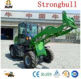 Equipos de construcción baratos delantero 1.2T Granja Pala cargadora de ruedas