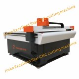 Máquina de estaca de vibração do CNC da faca do Es para a esteira 1313 do pé da bobina do PVC