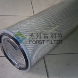 Il collettore di polveri del micron di Forst ha pieghettato il filtro dalle alette dell'aria di Spunbonded del poliestere