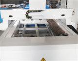 4 conjuntos de la máquina de grabado CNC giratorio para materiales de madera