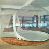 Tenda de exposições insuflável em PVC branco