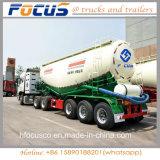 La Chine 45cbm 59t 3essieux semi-remorque de réservoir de ciment en vrac