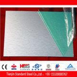 Una lámina de aluminio 7075 resistente a la corrosión u oxidación