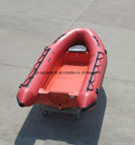 Aqualand 16 pies Motor de la Costilla de 4,7 millones de fibra de vidrio/bote inflable rígido RIB (bote de rescate470A)