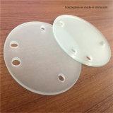 La dimensión de una variable modificó la cubierta para requisitos particulares ligera de cristal, cubierta protectora de la lámpara