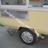 移動式Churrosのカートのコーヒーアイスクリームのバイクの三輪車のパンケーキクレープのワッフル車の食糧販売のカート