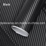 vinilo del abrigo del coche de la película de la fibra del carbón 3D