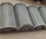 Venta caliente de malla de alambre cinta transportadora cinta transportadora de alimentos equipo