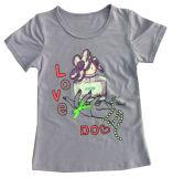 Gilet de fille de gosses de mode chez les vêtements des enfants et le gilet de Knit avec le chat (SV-012)