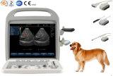 Scanner échographique Doppler couleur vétérinaire portable avec CE SGS