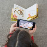 Children Education를 위한 마술 3D (AR) Funny Augmented Reality Book