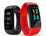 2017 pulseras elegantes de los productos que tienden del ritmo cardíaco del monitor de la aptitud del deporte caliente del perseguidor