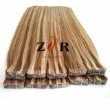 El Piano el Color de cabello chino llamado doble cinta en la extensión de cabello humano.