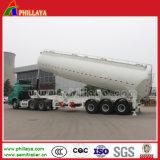 40-50m3는 대량 시멘트 가루 사일로 드는 탱크 트레일러를 반 말린다