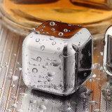 Acero inoxidable cubito de hielo de piedra Vino Whisky