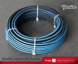 Arruela de aço trançada Flexível de lavagem de alta pressão Mangueira de borracha