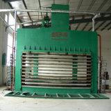 Máquina plana de la laminación de la chapa de los muebles para la cadena de producción de la tarjeta de partícula