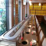 Boisson de nourriture de chaînes d'acier inoxydable/plastique de degré des sushi 0-180 traitant les convoyeurs incurvés de spire