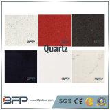 Het zwarte/Witte/Beige/Rode Kwarts van Plakken voor de Tegels van de Vloer van de Bovenkanten van de Keuken