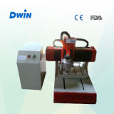 Router de cinzeladura pequeno do CNC da placa Desktop do MDF (DW3030)