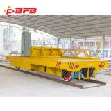 Tisch-Höhen-Schienen-Übergangskarre der Kapazitäts-10t niedrige für Aluminiumring auf Schienen (KPC-10T)