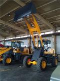 Carregador longo da roda da parte frontal da construção do crescimento do braço de 2.0 toneladas com alcance de 4.2m