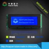 Blauer Hintergrund punktiert grafische LCD-Baugruppe mit 240X128 (STN)