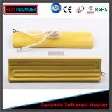1000W Blanca infrarrojo lejano de la radiación placa de cerámica del calentador