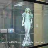 Pellicola trasparente olografica del proiettore per la finestra del negozio