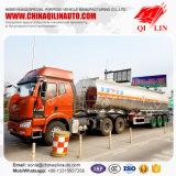 Одиночный отсек 42000 литров нефтяного танкера алюминиевого сплава для сбывания