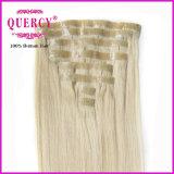 Nuovo Arrival Best Selling Factory Wholesale Price nessun Tangle nessun'unità di elaborazione Skin Weft Clip di Shedding in Hair Extension