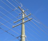 ISO Certificated 132kv power transmission LINE Steel of poles Tower