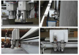 Tecidos CNC Automático dos Cortadores de plotter com elevadores de Faca Oscilante