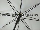 Basis VIP van de Pongézijde van de Paraplu van de Stok Witte Gift