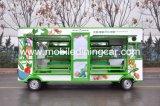 Camion mobile de nourriture pour vendre des fruits et légumes à vendre