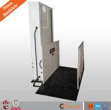 Vente en usine d'ascenseur en fauteuil roulant vertical pour handicapés